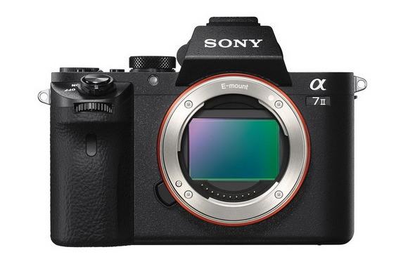 Sony A7II full frame camera