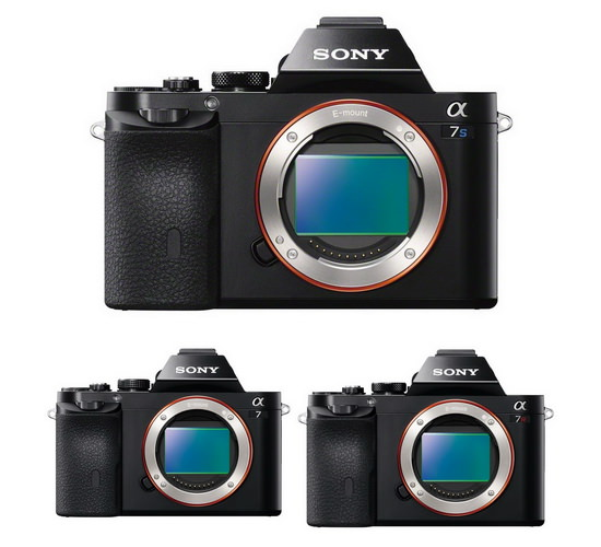 sony-a7s-a7-a7r-cameras New Sony FE-mount cameras to outshine potential Canon rivals Rumors