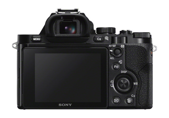 sony-a7s-back Sony A7S mirrorless camera announced with 4K video recording News and Reviews