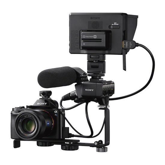 sony-a7s-external-recorder Sony A7S mirrorless camera announced with 4K video recording News and Reviews