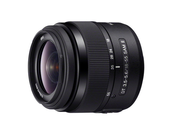 sony-dt-18-55mm-f3.5-5.6-sam-ii Zeiss 50mm, Sony 70-400mm and 18-55mm lenses revealed News and Reviews