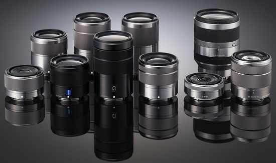 sony-e-mount-lenses Sony NEX-FF camera announcement date is September 24 Rumors