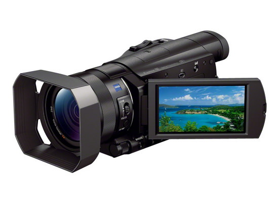 sony-fdr-ax100-4k-handycam Sony FDR-AX100 and HDR-AS100V camcorders go live at CES 2014 News and Reviews