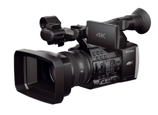 sony-fdr-ax1e-4k-video Sony FDR-AX1E becomes world's first under-$5,000 4K video camcorder News and Reviews