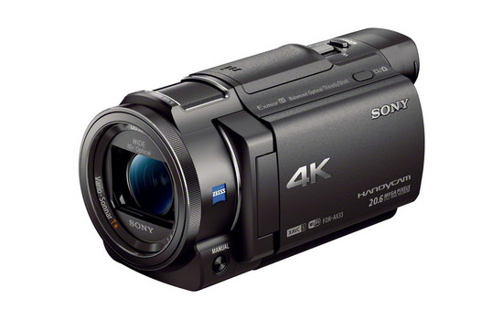 sony-fdr-ax33 Sony FDR-AX33 revealed as an affordable 4K camcorder News and Reviews