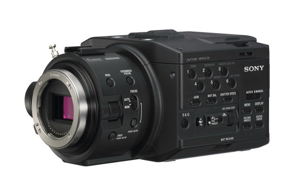 Sony FS100 E-mount camcorder