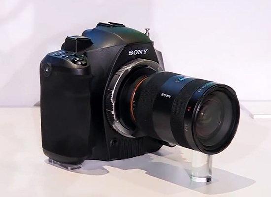 sony-fz-mount-4k-dslr Sony FZ-mount 4K video DSLR camera will not be released Rumors
