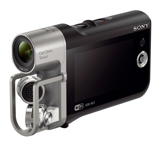 sony-hdr-mv1 Sony HDR-AS30V and HDR-MV1 movie recorders become official News and Reviews