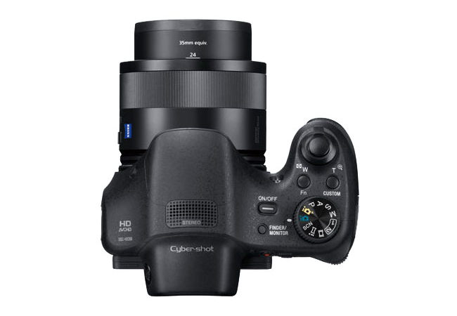 sony-hx350-top Sony HX350 bridge camera becomes official with 50x optical zoom lens Featured News and Reviews
