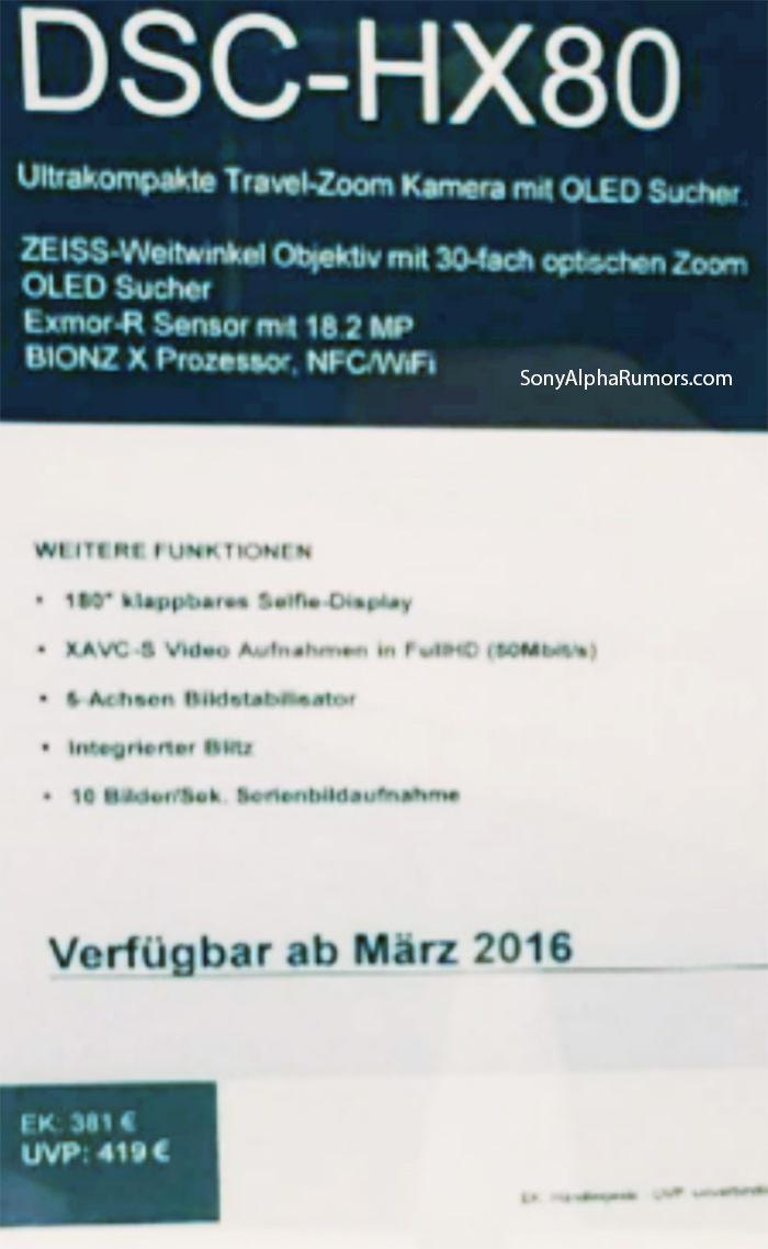 sony-hx80-release-date-details-leaked Sony HX80 release date, specs, and price details leaked Rumors