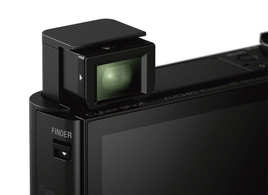 sony-hx90v-viewfinder Sony HX90V launched as world's smallest 30x zoom camera News and Reviews
