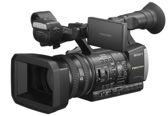 sony-hxr-nx3 Sony HXR-NX3 camcorder announced with WiFi and NFC News and Reviews