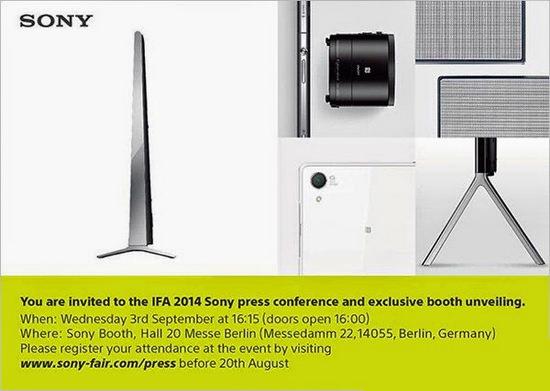 sony-ifa-2014 Sony QX30 camera shaped like a lens coming at IFA Berlin 2014 Rumors