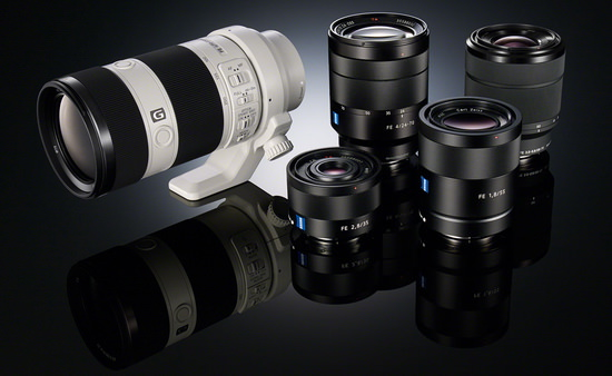 sony-lenses Several new Sony lenses to be unveiled at Photokina 2014 Rumors