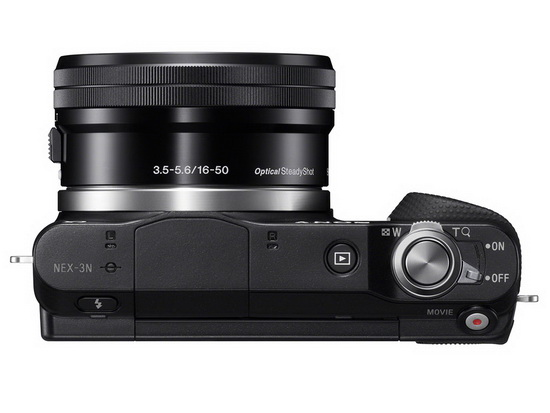 sony-nex-3n-top-view Sony NEX-3N 16.1-megapixel mirrorless camera officially announced News and Reviews