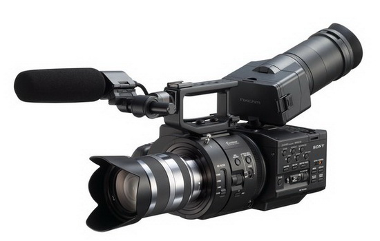 sony-nexfs700uk Sony FDR-AX1 4K video camcorder to be introduced soon Rumors