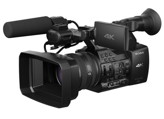 sony-pxw-z100 Sony PXW-Z100 professional 4K video camera revealed News and Reviews