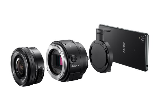 sony-qx1 Sony QX1 becomes official with E-mount lens and RAW support News and Reviews