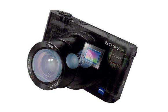 Sony RX100 III image sensor technology