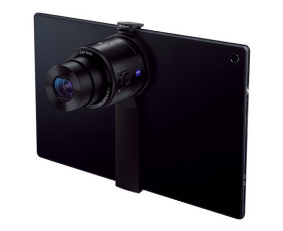 sony-spa-ta1 Sony SPA-TA1 to let you mount QX10 and QX100 on tablets News and Reviews