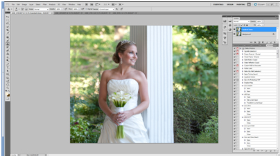 ss4 How To Edit A Bridal Image Using Photoshop Actions Blueprints Guest Bloggers Photography Tips Photoshop Actions