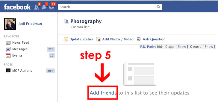 step-5 Fix Broken Facebook: Guide to Help Photography Businesses Announcements Social Networking