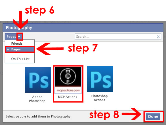 step678 Fix Broken Facebook: Guide to Help Photography Businesses Announcements Social Networking