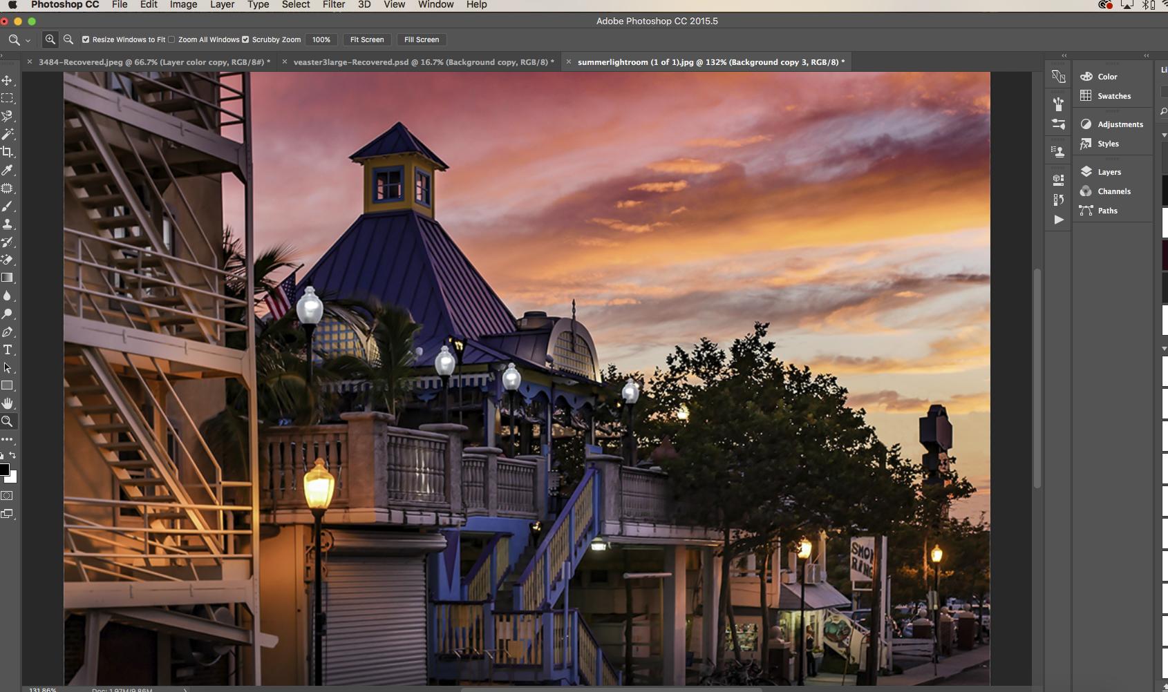 summer5 Summer Sunset Edit For Lightroom and Photoshop Lightroom Presets Lightroom Tutorials Photoshop Tips & Tutorials