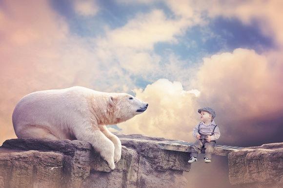 Theodore's Adventure: meeting a polar bear
