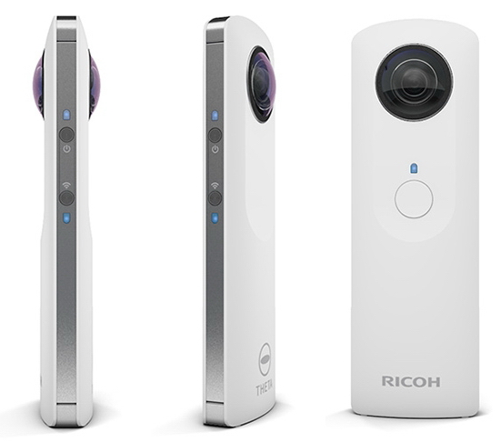 theta-camera Ricoh Theta camera unveiled for 360-degree panorama lovers News and Reviews