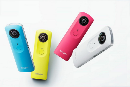 theta-m15 Ricoh Theta m15 announced in new colors with video support News and Reviews