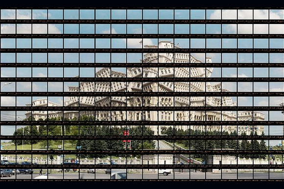 Palace of the Parliament in Bucharest panorama by Thomas Kellner