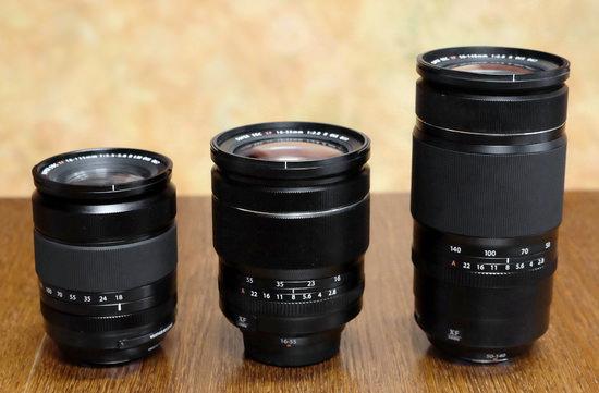 three-fujifilm-lenses Three upcoming Fujifilm weathersealed lenses caught on camera Rumors
