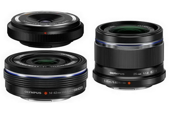 three-new-olympus-lenses Olympus E-M10 release date scheduled for January 29 Rumors