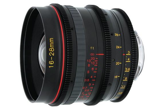 Tokina 16-28mm T3.0 lens