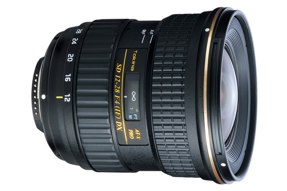 Tokina AT-X 12-28mm f/4 wide-angle zoom lens