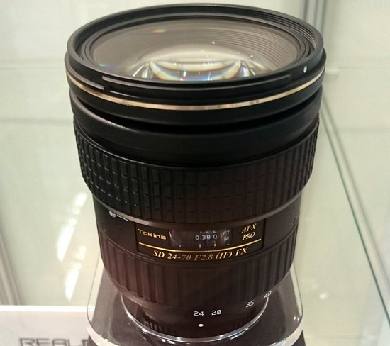 tokina-at-x-24-70mm-f2.8-pro-fx Tokina AT-X 11-20mm f/2.8 PRO DX lens spotted at Photokina News and Reviews
