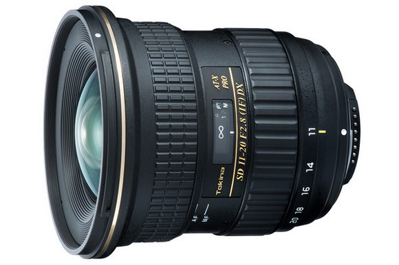 Tokina AT-X SD 11-20mm /2.8 IF DX lens