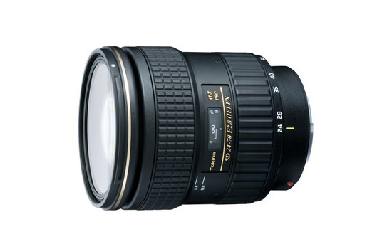 tokina-at-x-sd-24-70mm-f2.8-if-fx-lens Tokina AT-X SD 24-70mm f/2.8 (IF) FX lens becomes official News and Reviews