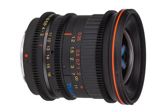 Tokina Cinema AT-X 11-16mm T3.0