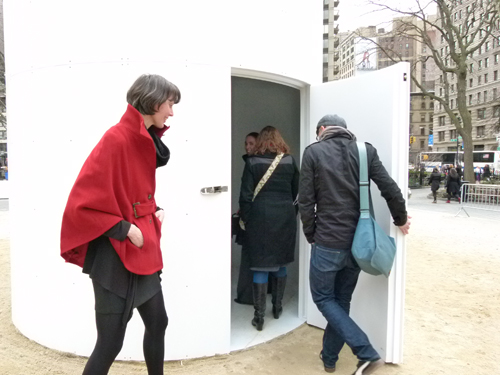 topsy-turvy-camera-obscura-new-york-city-park Topsy-Turvy camera obscura now open in the New York City park News and Reviews