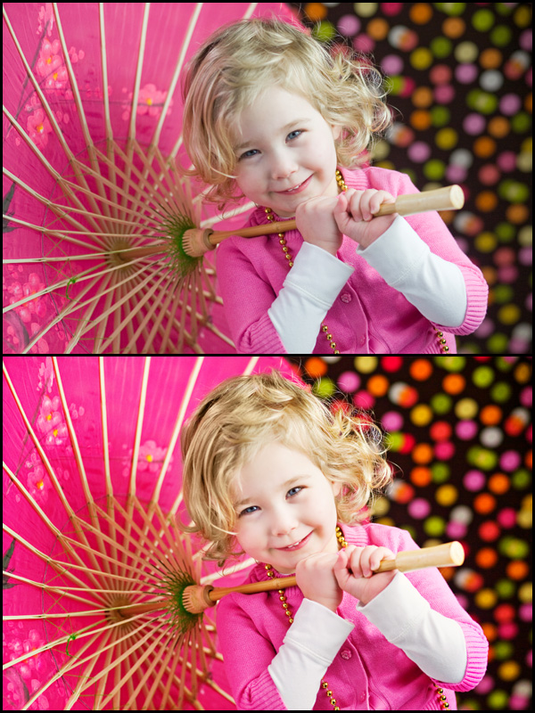 unbrella-girl How to Use Photoshop Actions to Enhance Photos {Blueprint} Blueprints Photoshop Actions Photoshop Tips & Tutorials