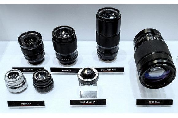 Upcoming Fujifilm lenses at CP+ 2015