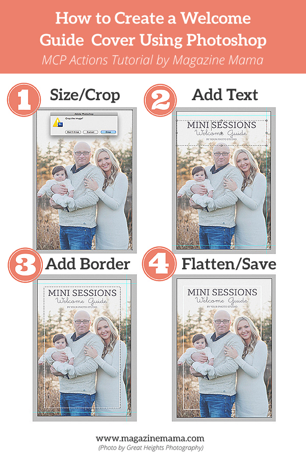 updatedgraphic How to Create a Welcome Guide Template Using Photoshop Assignments Guest Bloggers Photoshop Tips & Tutorials