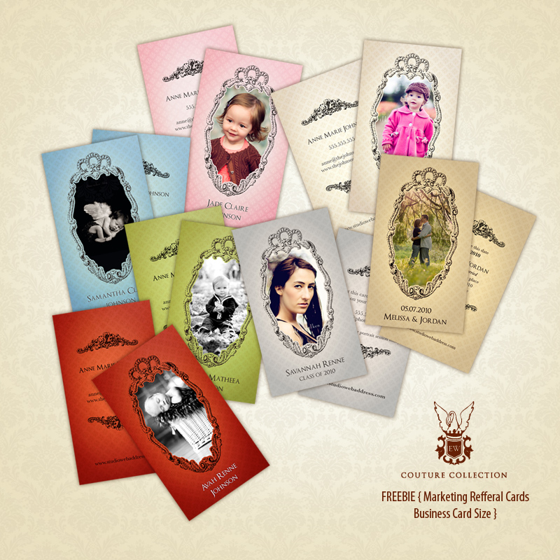 victorian_set_ewcc FREE Holiday Cards & Referral Cards Free Editing Tools