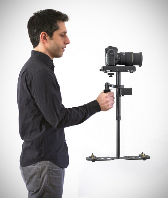 video-camera-stabilizer-dslr Supraflux Video Camera Stabilizer to keep your videos nice and steady News and Reviews