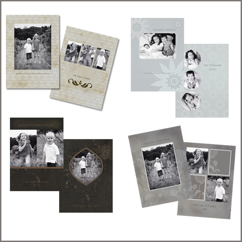 vintage-card-templates1 Win Holiday Card Templates from Photographer Cafe Contests