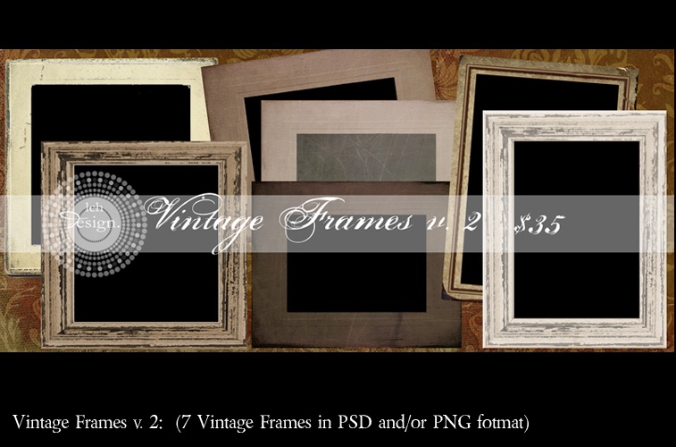"""vintage-frames-v2-ex Contest week {#3} everyone wins a free frame + 1 """"big"""" winner Contests Free Actions Photoshop Tips & Tutorials"""