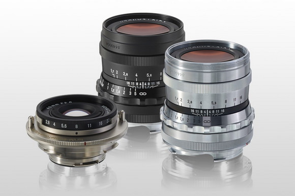 Voigtlander lenses at Photokina