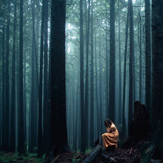 wandering-through-the-forest Ethereal landscape photos with people in them by Elizabeth Gadd Exposure